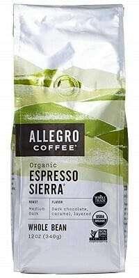 Allegro Coffee Organic Espresso Sierra Whole Bean