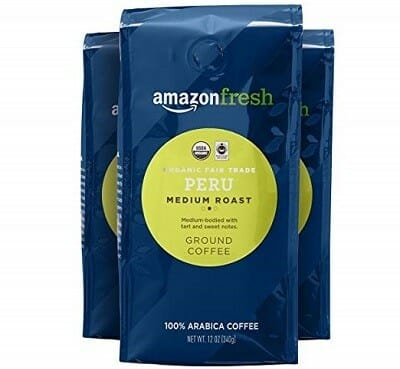 AmazonFresh Organic Fair-Trade Coffee