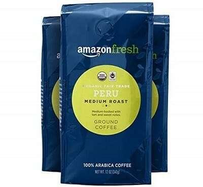 AmazonFresh Organic Fair-Trade Coffee