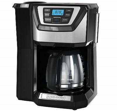 Black & Decker 12 Cup Mill and Brew Coffee Maker