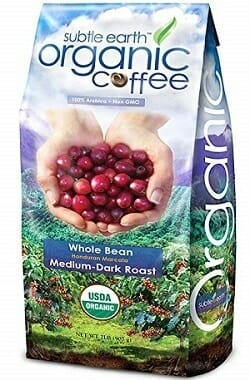 Cafe Don Pablo Subtle USDA Organic Whole Bean Coffee