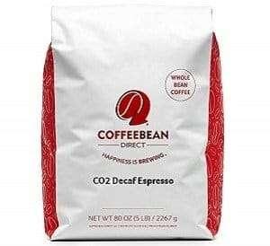 Coffee Bean Direct CO2 Decaf Espresso Bean