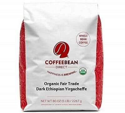 CoffeeBean Direct Whole Bean Organic Coffee