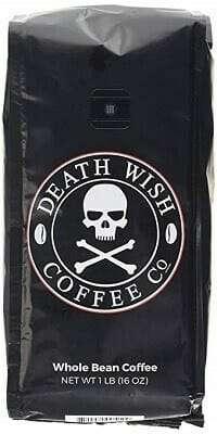 Death Wish Organic USDA Whole Bean Coffee