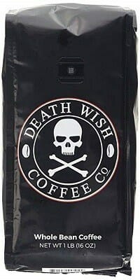 Death Wish USDA Organic Whole Bean Coffee