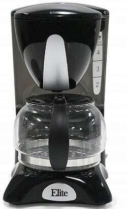 Elite Cuisine EHC-2022 Maxi-Matic 4 Cup Coffee Maker