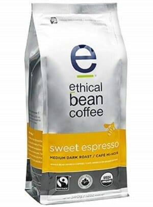 Ethical Bean USDA Whole Bean Organic Coffee