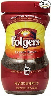 Folgers Classic Instant Coffee