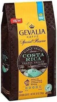 Gevalia Special Reserve Coarse Costa Rica Ground Coffee