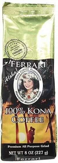 Hawaiian Mountain Gold Medium Roast 100% Kona Coffee