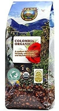 Java Planet USDA Organic Arabica Whole Bean Coffee
