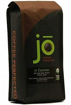 Jo Coffee Arabica Espresso Organic Coffee