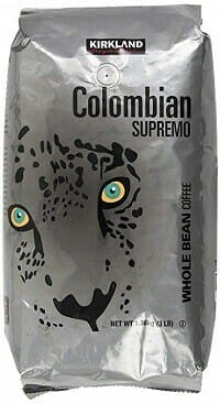 Kirkland Signature Colombian Supremo Whole Bean Coffee