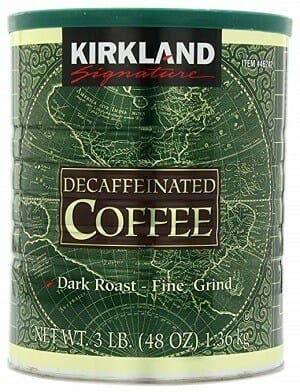 Kirkland Signature Fine Grind Decaf Coffee