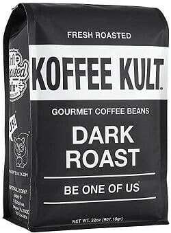 Koffee Kult Dark Roast Whole Bean Coffee