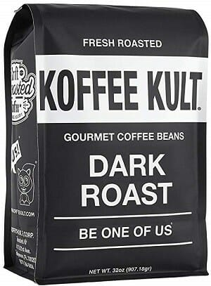 Koffee Kult Dark Roast Whole Bean Coffee