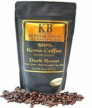 Kona Bean Co. Dark Roast 100% Kona Coffee