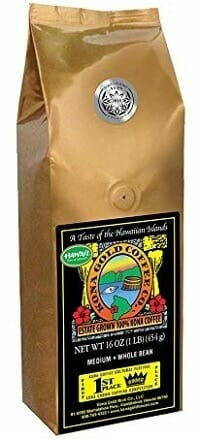 Kona Gold Extra Fancy 100% Kona Coffee