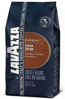 Lavazza Super Crema Whole Bean Coffee Blend