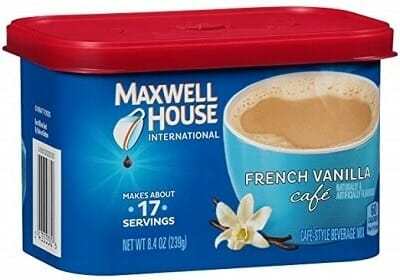 Maxwell House International Instant Coffee
