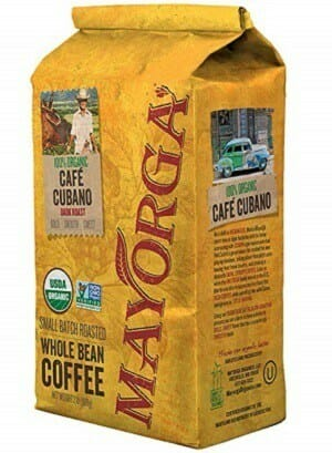 Mayorga Organics Whole Bean USDA Organic Coffee