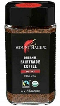 Mount Hagen Organic Freeze-Dried Instant Coffee