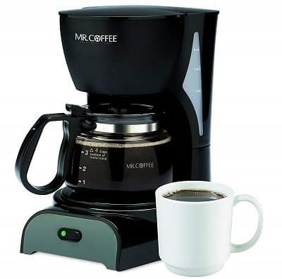 Mr.Coffee Simple Brew 4 Cup Coffee Maker