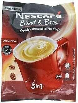 Nescafe 3 in 1 Original Instant Coffee