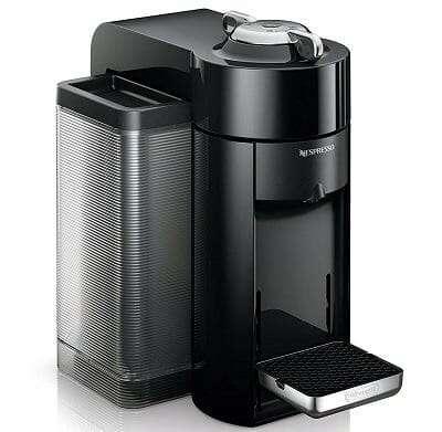 Nespresso Vertuo Evoluo Machine with Aeroccino by DeLonghi