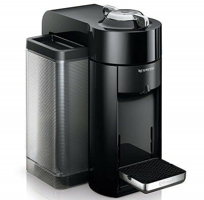 Nespresso Vertuo Evoluo Machine with Aeroccino by DeLonghi