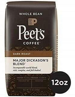 Peet's Coffee Dark Roast Whole Bean Coffee