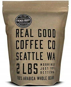 Real Good Coffee Co. French Roast Dark Whole Bean Coffee