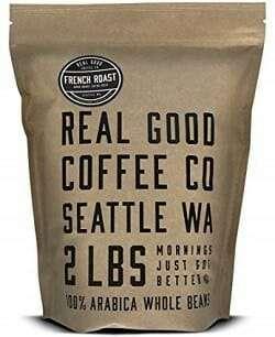Real Good Coffee Co. French Roast Dark Whole Bean Coffee