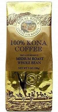 Royal Kona Whole Bean 100% Kona Coffee