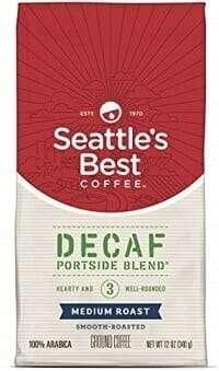 Seattle's Best Coffee Decaf Portside Blend Ground Coffee