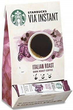 Starbucks VIA Italian Dark Roast Instant Coffee