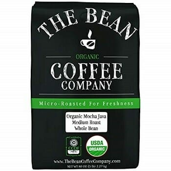 The Bean Coffee Company Mocha Java Organic Coffee