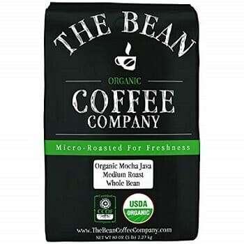 The Bean Coffee Company Mocha Java Organic Coffee