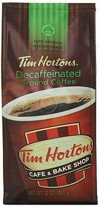 Tim Hortons 100% Arabica Decaf Coffee