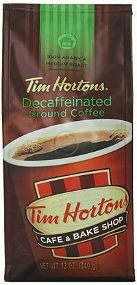 Tim Hortons 100% Arabica Decaf Coffee