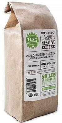 Tiny Foot Print Cold Brew Organic Coffee