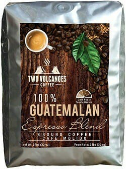 Two Volcanoes Guatemala Delicious Gourmet Coffee