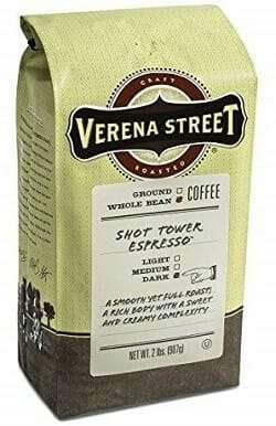 Verena Street Arabica Espresso Bean