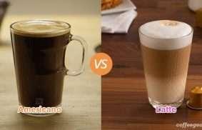 Americano vs. Latte
