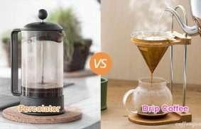 Percolator vs. Drip Coffee