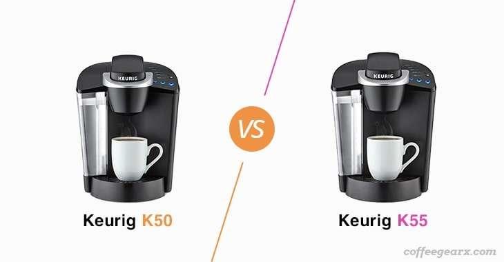 Keurig K50 vs. Keurig K55