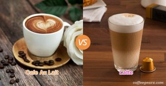 Cafe Au Lait vs. Latte