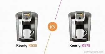 Keurig K525 vs. Keurig K575