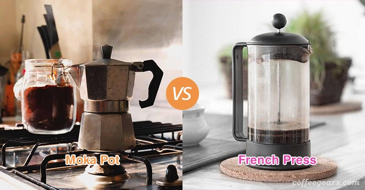 Moka Pot vs. French Press