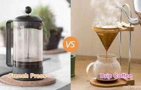 French Press vs. Drip Coffee